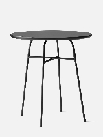Afteroom Cafe Table Laminate Black