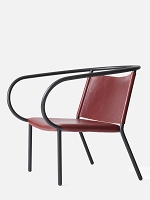 Afteroom Lounge Chair Sorensen Elegance 20193 Leather Red