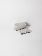 Organic Hand Towel Light Grey | Ferm Living