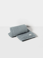 Organic Bath Towel Dusty Blue | Ferm Living