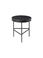 Marble Table Black Marquina Medium | Ferm Living