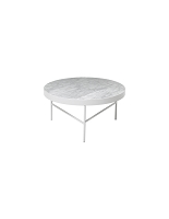 Marble Table White Carra Large | Ferm Living