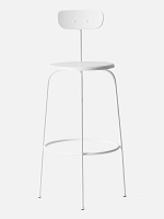 Afteroom Bar Chair White