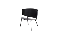 Herman Lounge Chair Black | Ferm Living