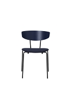 Herman Chair Dark Blue/Seat Dark Blue | Ferm Living