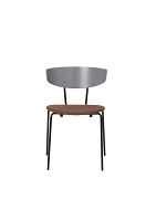 Herman Chair Grey/Seat Rust | Ferm Living