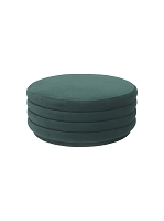 Pouf Round Dark Green Large | Ferm Living
