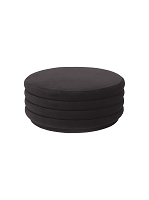 Pouf Round Chocolate Large | Ferm Living