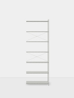 Punctual Shelving System Grey 0x7 | Ferm Living