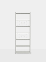 Punctual Shelving System Grey 1x7 | Ferm Living