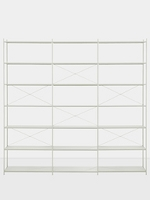 Punctual Shelving System Grey 3x7 | Ferm Living