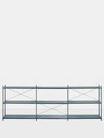Punctual Shelving System Dark Blue 3x3 | Ferm Living