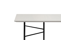Mingle Table Top 210cm Lino Light Grey | Ferm Living