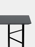 Mingle Desk Top 135cm Lino Charcoal | Ferm Living