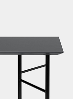 Mingle Table Top 160cm Lino Charcoal | Ferm Living