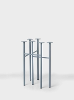 Mingle Table Legs W48 Dusty Blue set of 2 | Ferm Living