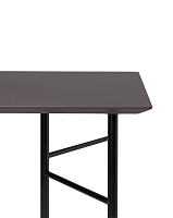 Mingle Desk Top 135cm Lino Taupe | Ferm Living