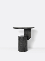 Insert Side Table Black stained | Ferm Living