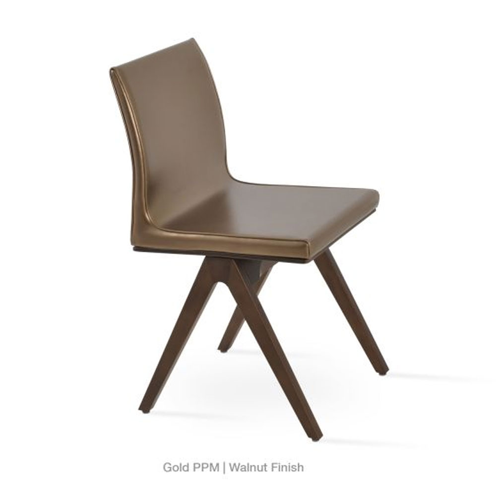 Aria Fino Dining Chair Leather | SohoConcept