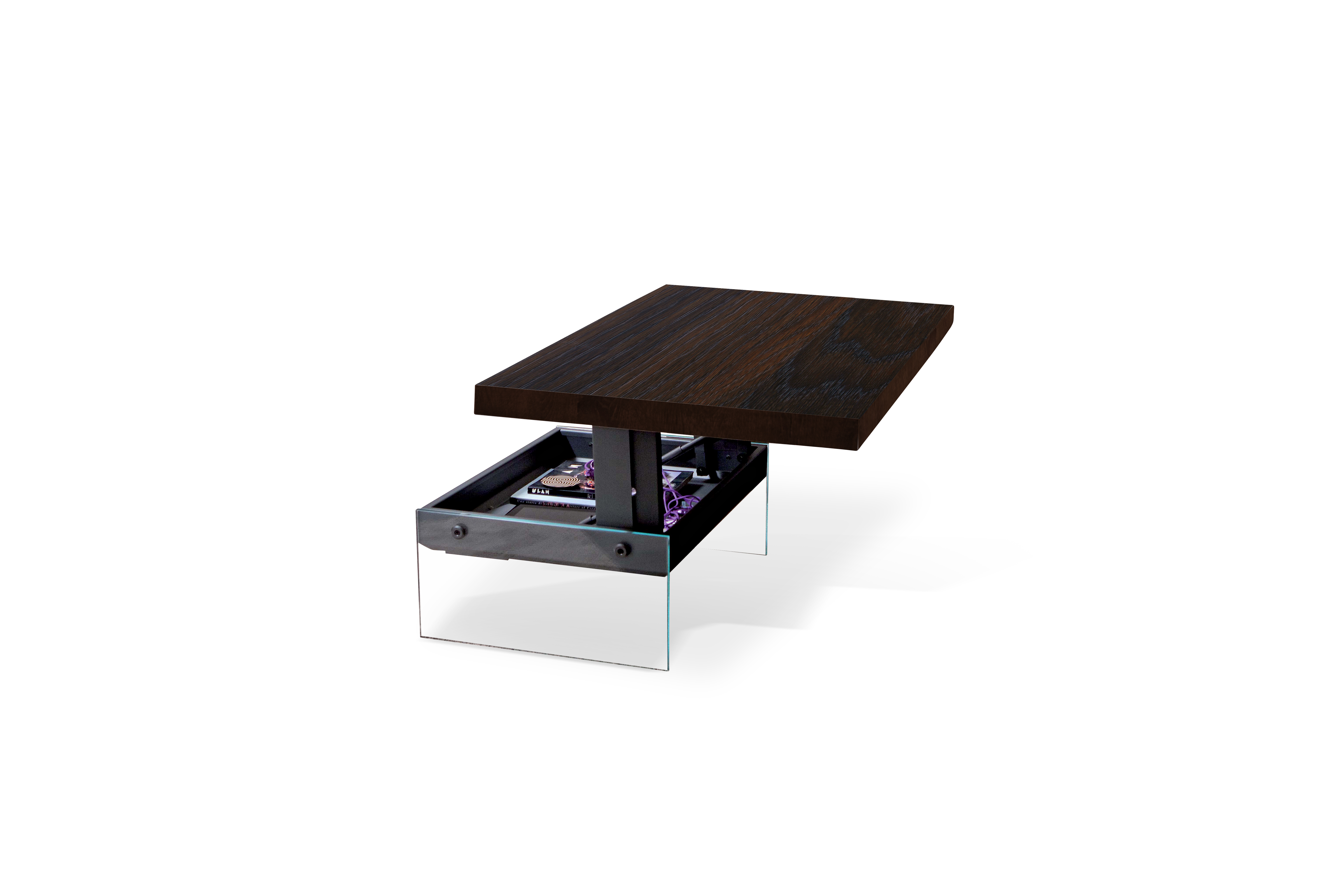 Bellagio Heat Treated Oak Dining Table / Coffee Table | Ozzio