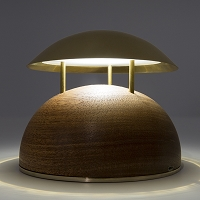 Bell Round Table Lamp | Alma Light