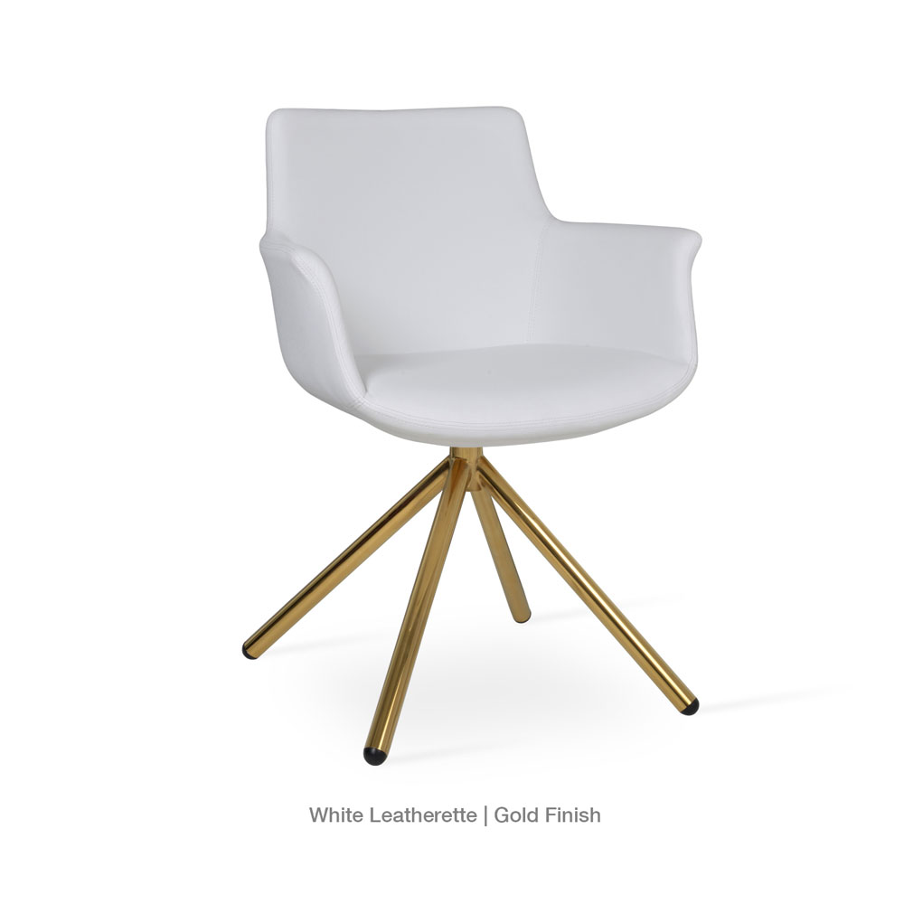Bottega Stick Arm Chair Leather | SohoConcept
