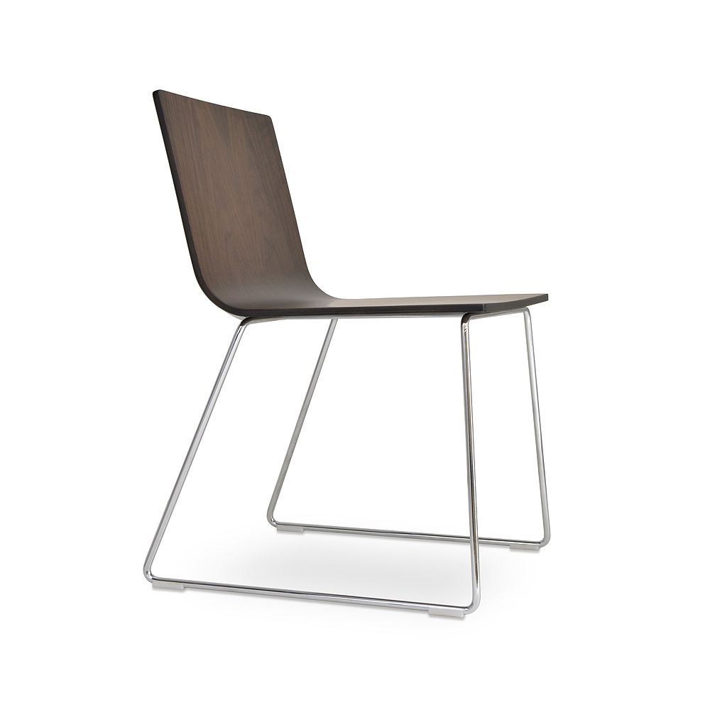 Corona Wire Plywood Dining Chair | SohoConcept