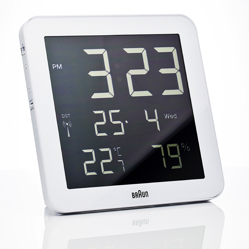 Digital Wall Clock | Braun