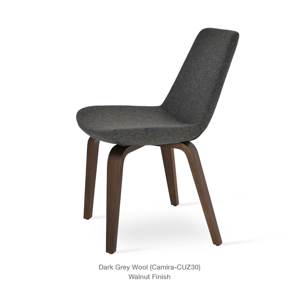 Eiffel Plywood Chair Fabric | SohoConcept