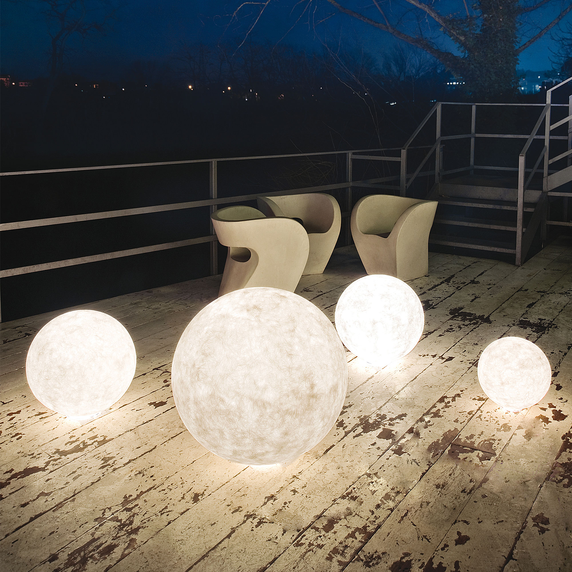 Ex Moon Outdoor Lamp | In-es Art Design