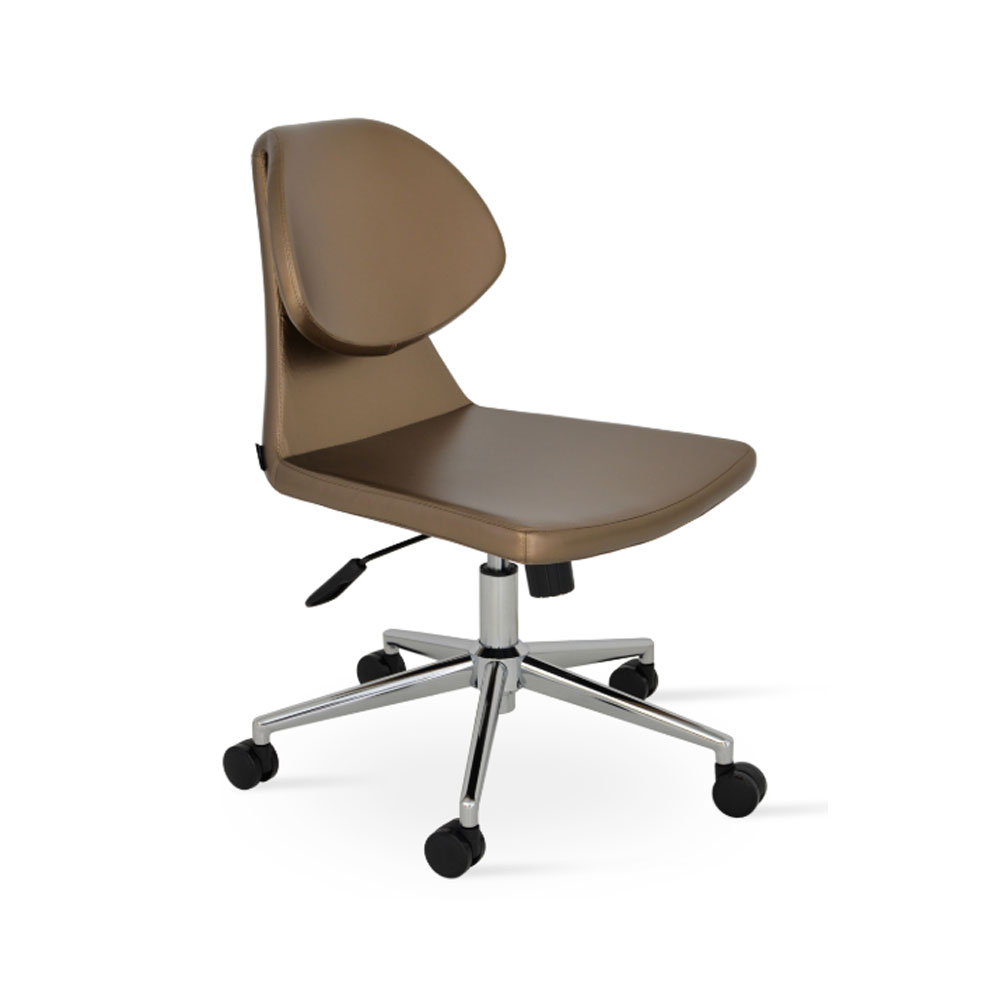 Gakko Office Chair Leather | SohoConcept
