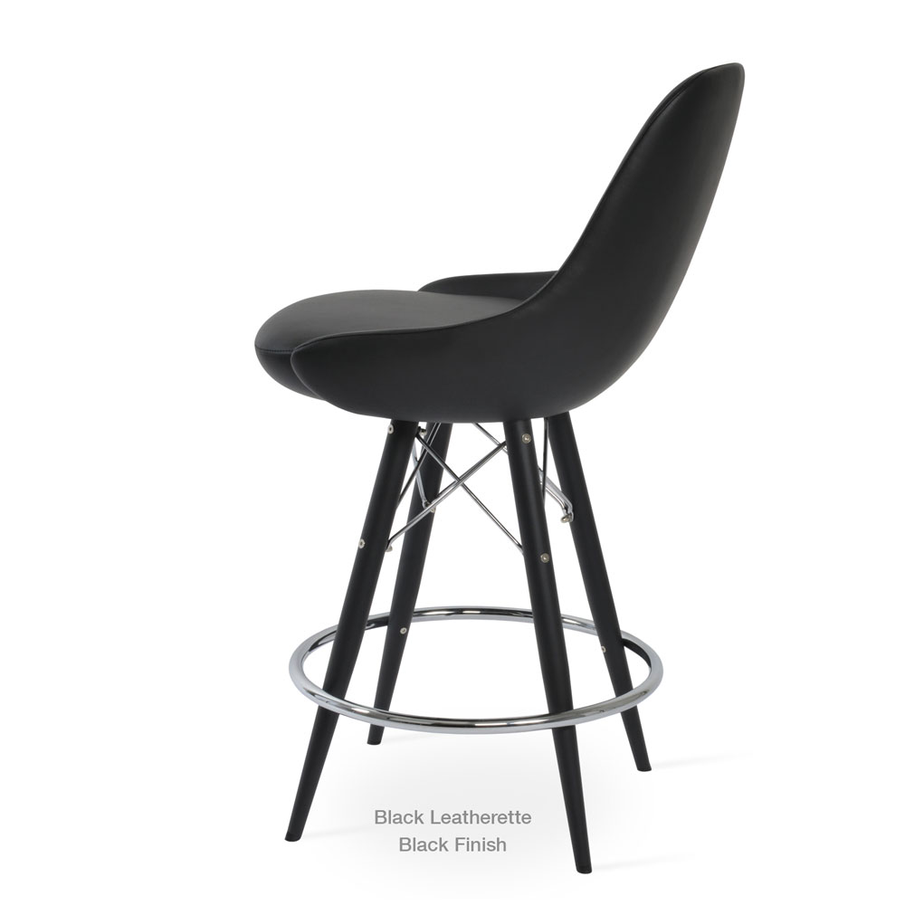 Gazel MW Stool Leather | SohoConcept