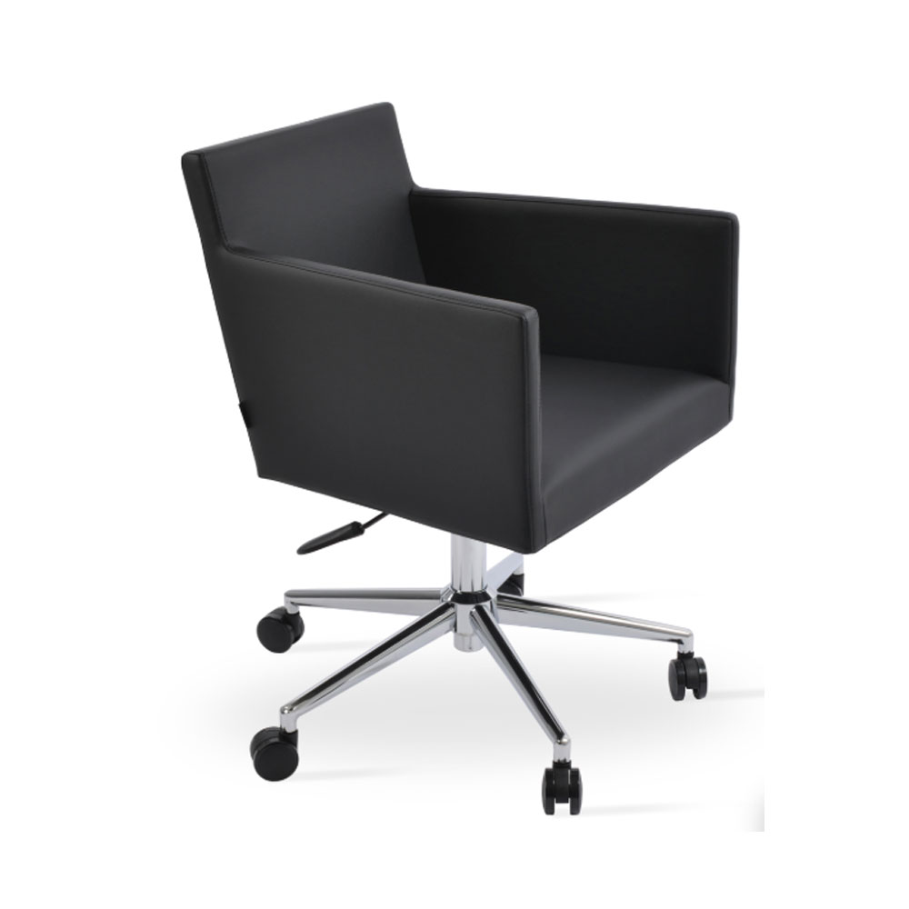 Harput Arm Office Chair Leather | SohoConcept