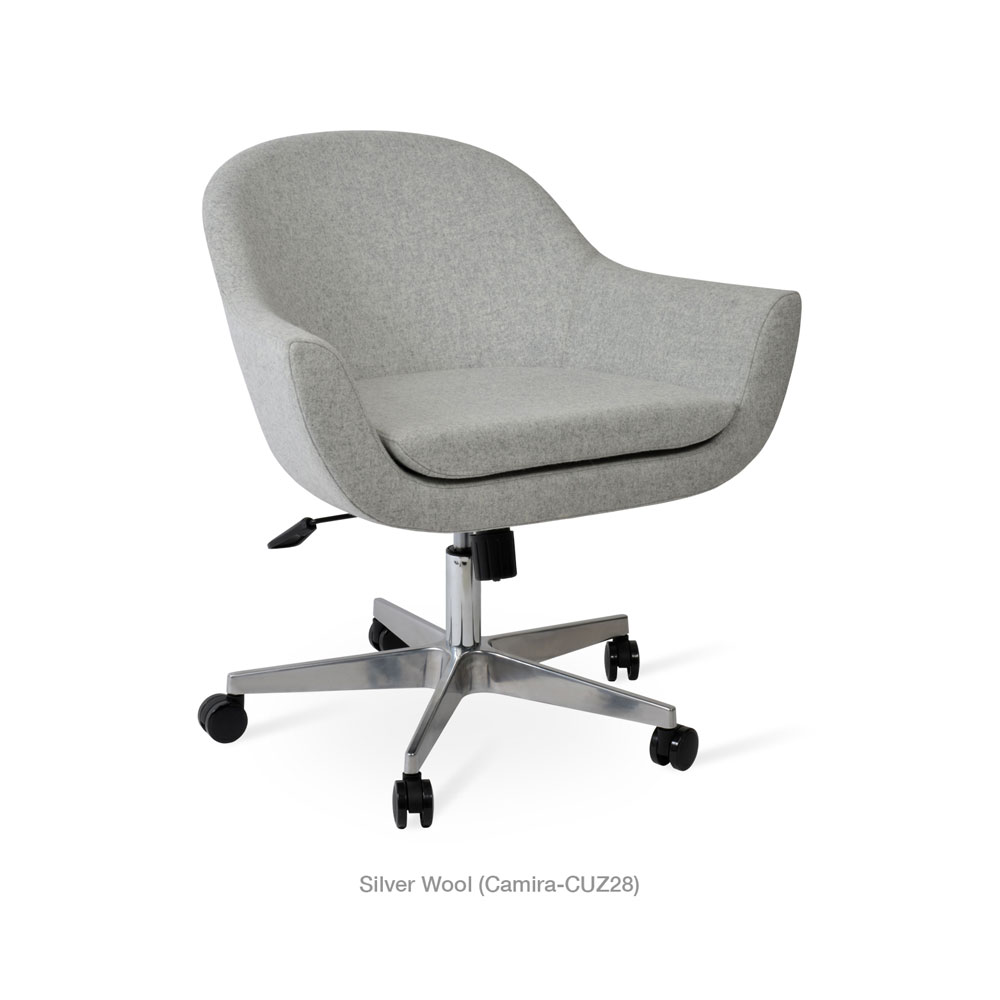 Madison Office Arm Chair Fabric | SohoConcept
