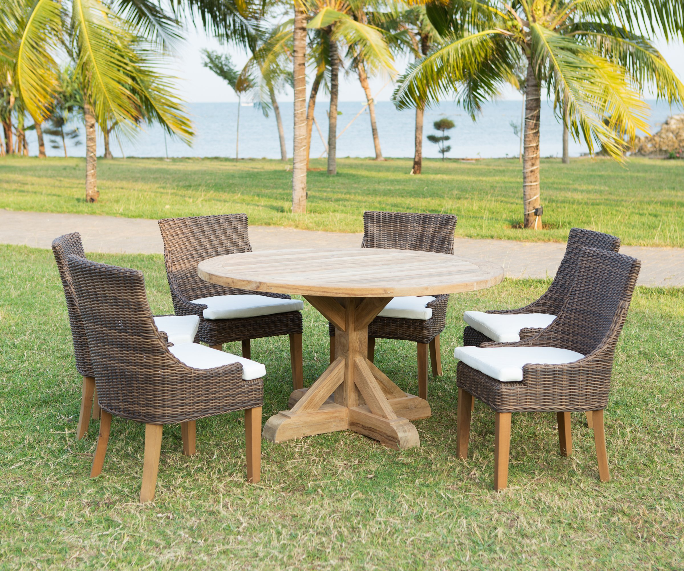 Xena Reclaimed Outdoor Dining Table | Padma's Plantation