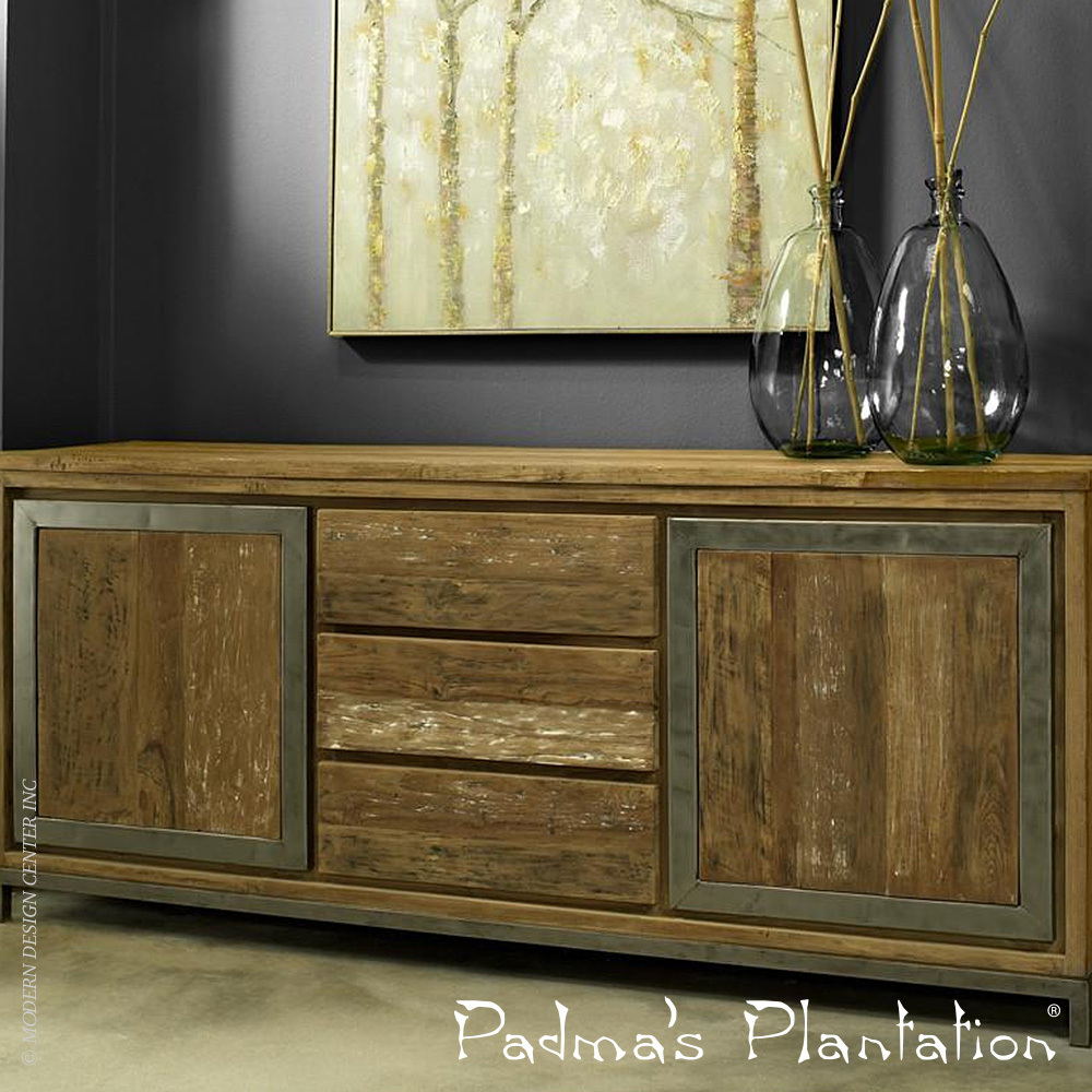 Island Estate Reclaimed Teak Sideboard | Padma's Plantation