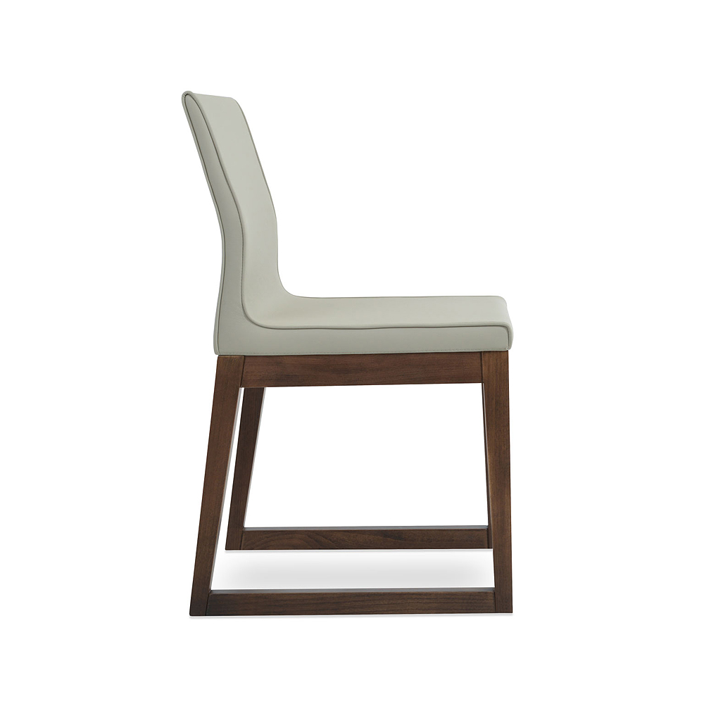 Polo Sled Wood Dining Chair | SohoConcept