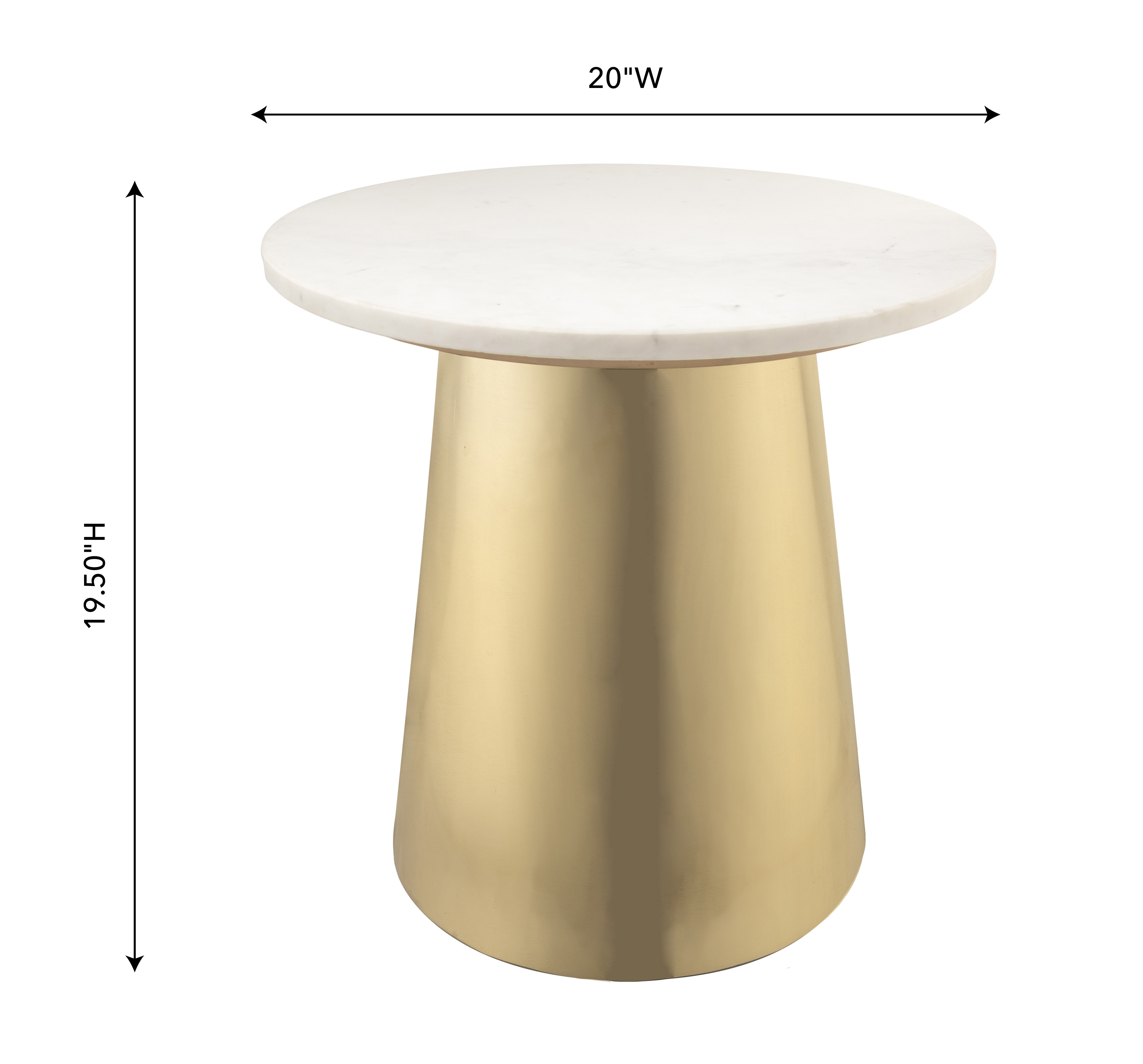 Tov Bleeker Marble Side Table. Tap To Expand