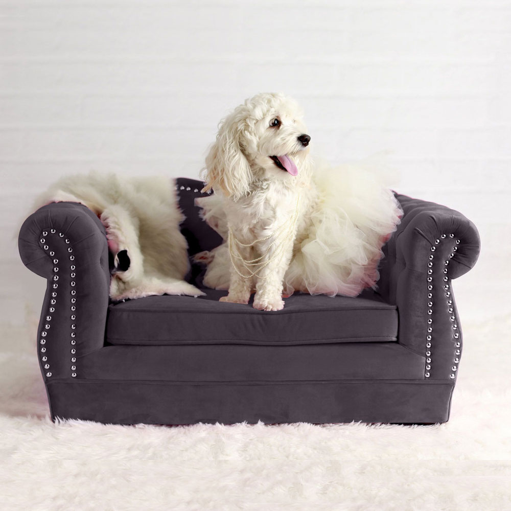 Tov Furniture Yorkshire Grey Pet Bed