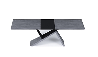 Artiste Dining Table in Grey Oak | B-Modern