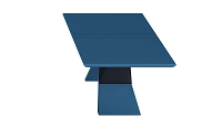 Artiste Dining Table in Matte Blue | B-Modern