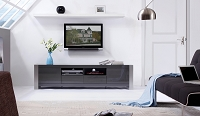 Composer TV Stand, Grey | B-Modern