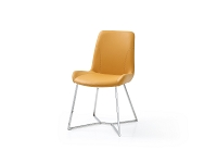 Aileen Yellow Dining Chair| Whiteline