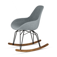 Diamond Dimple Pop Rocking Chair | Kubikoff