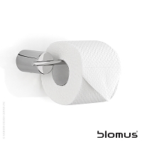 Duo Toilet Paper Holder Narrow Wall Mounted 68587 | Blomus