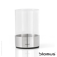 Duo Toothbrush Holder Glass 68582 | Blomus