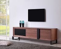 Entertainer TV Stand, Walnut | B-Modern