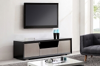 Esquire TV Stand, Black | B-Modern