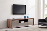 Esquire TV Stand, Light Walnut | B-Modern