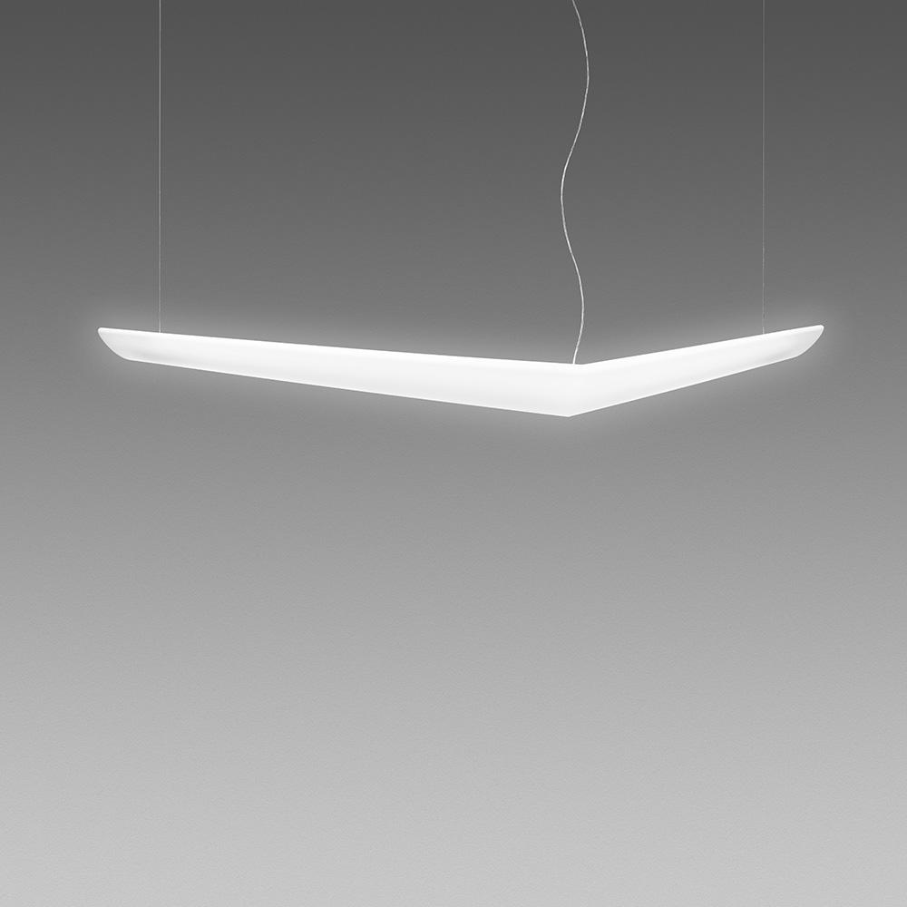 Mouette Asymmetrical Suspension 24W+54W Dimmable | Artemide